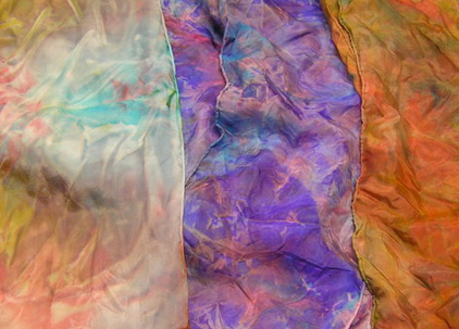 Art Snap. Tissue Paper Scarves