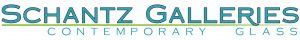 Schantz galleries logo aqua