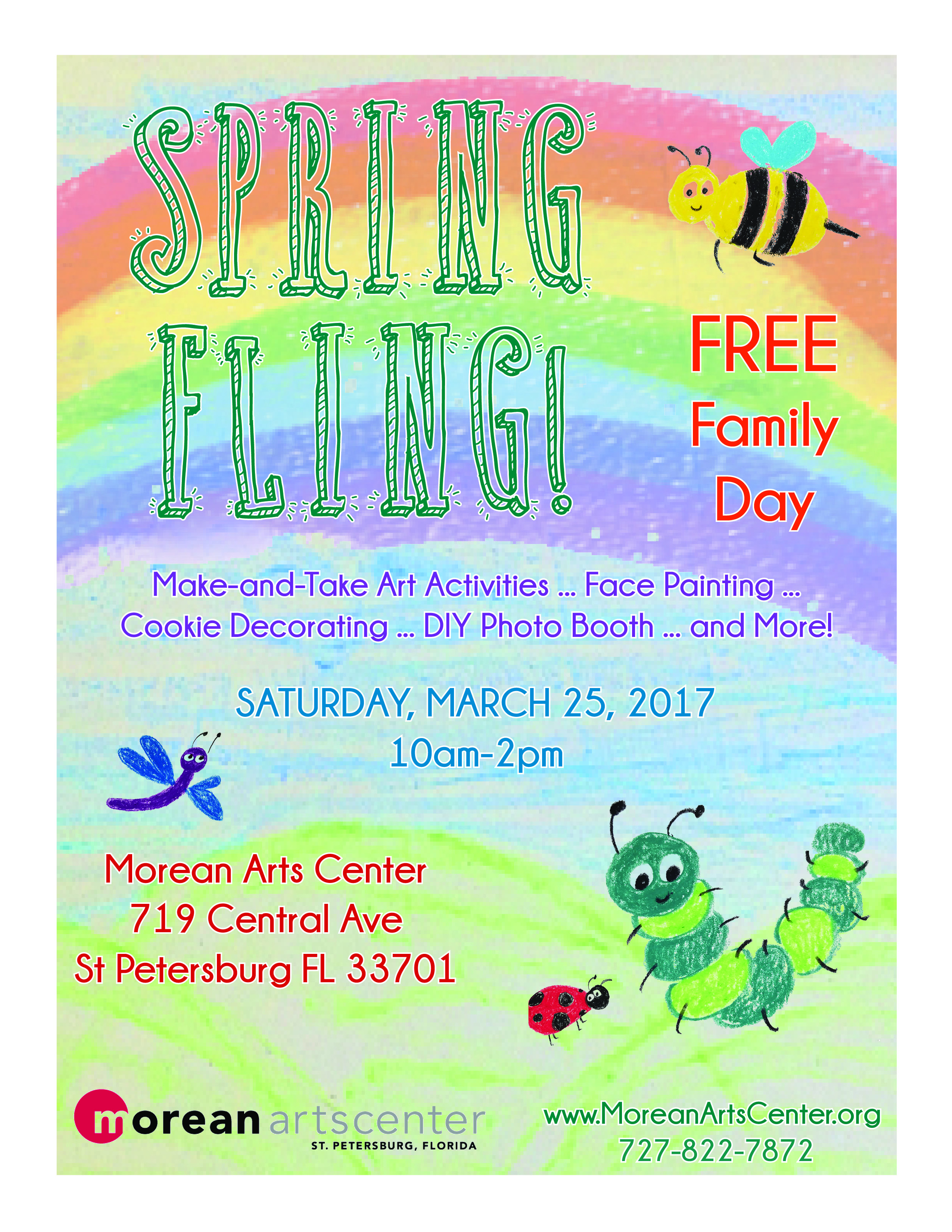morean arts center spring family day 2017