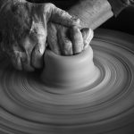 Learning to See in Black and White with Beth Reynolds hands on wheel