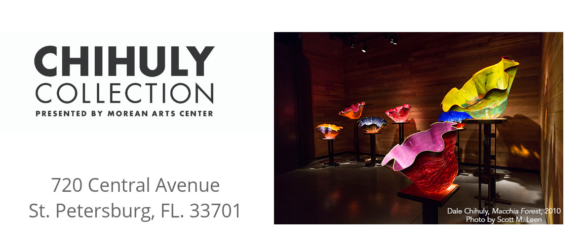 Morean Arts Center | Chihuly Collection