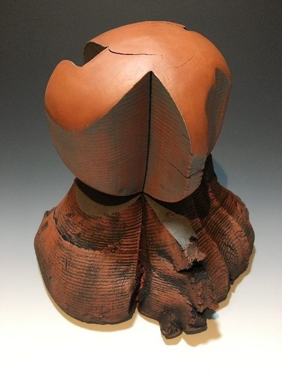 Sculpture extruded clay