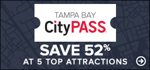 Tampa Bay City Pass - Save 52% at top 5 arttractions